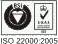 Certificate of Registration ISO 22000