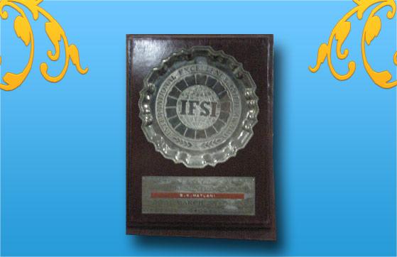 Udyog Patra Award